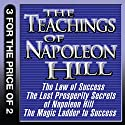 The Teachings of Napoleon Hill: The Law of Success, The Lost Prosperity Secrets of Napoleon Hill, The Magic Ladder to Success Audiobook by Napoleon Hill Narrated by Grover Gardner, Erik Synnestvedt, Sean Pratt