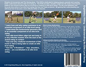 Understanding the Elite Level Swing - Part 1 and 2 Combo Set (Baseball and Softball... by Steve Englishbey - EnglishbeyHitting.com