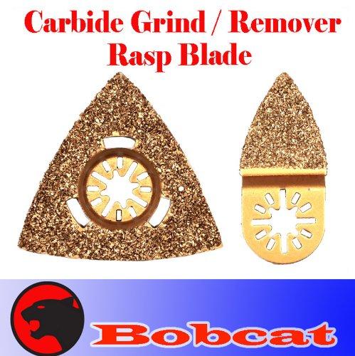 Carbide Finger / Triangular Grout Rasp Oscillating Multi Tool Saw Blades For Fein Multimaster Bosch Multi-X Craftsman Nextec Dremel Multi-Max Ridgid Dremel Chicago