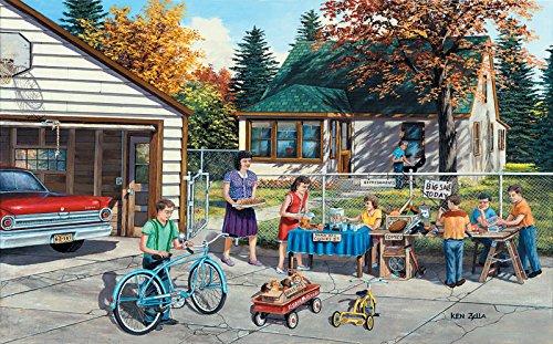 SunsOut Backyard Sale Jigsaw Puzzle (300-Piece)