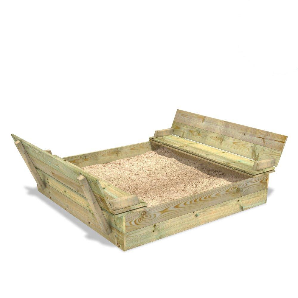 WICKEY Sandkasten Flippey 130×165 bestellen