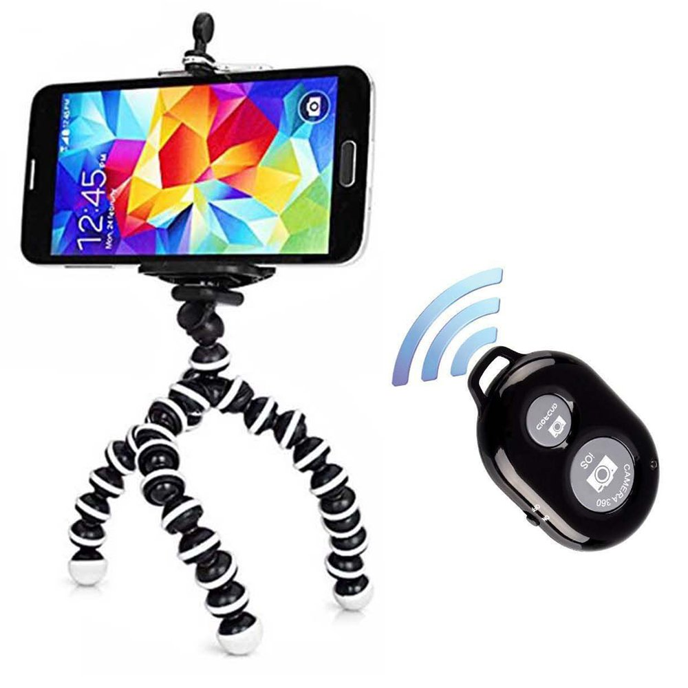 G Bl Stand Octopus Black 1 Octopus Style Portable