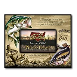 American Expedition Largemouth Bass Canvas Photo Frame