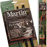 Martin Fly Fishing Reel with Line and 3-Piece Fly Rod (Size 5/6)