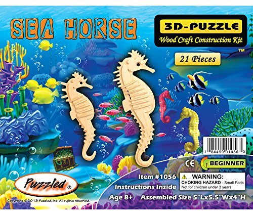 Creatology Wooden Puzzle-Sea Horse