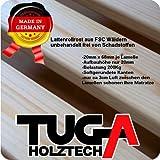 TUGA-Holztech 20mm Rollrost Rolllattenrost 120x200cm bis 200KG