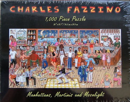Manhattans, Martinis and Moonlight 1000pc. Puzzle
