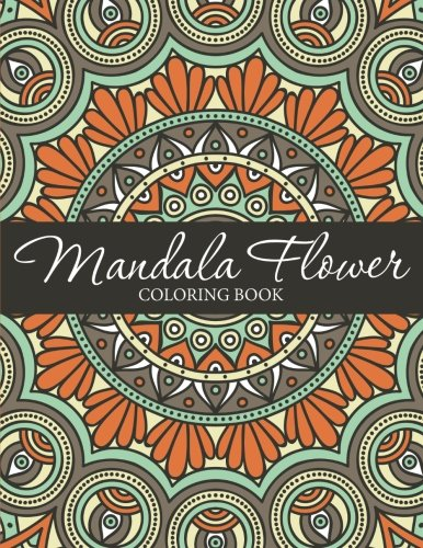 Mandala Flower Coloring Book