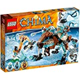 Lego Legends Of Chima-playthèmes - 70143 - Jeu De Construction - Le Robot Tigre De Sir Fangar