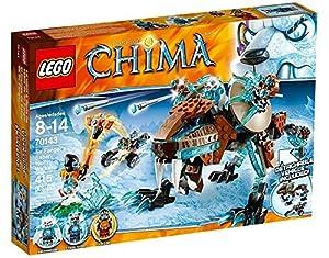 Lego Legends Of Chima-playthèmes - 70143 - Jeu De Construction - Le Robot Tigre De Sir Fangar