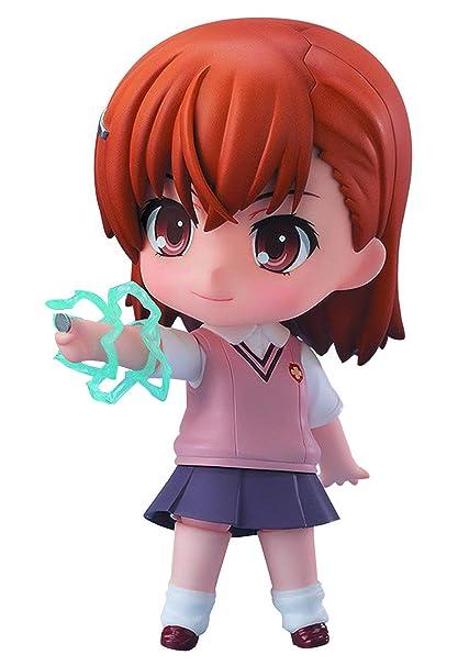 To Aru Kagaku no Railgun S: Misaka Mikoto Nendoroid Action Figurine