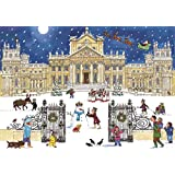 Alison Gardiner Large Traditional Advent Calendar: Christmas at the Palace