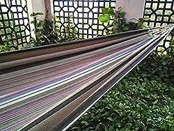 Hangit Cotton Fabric Hammock - Multicolor Stripe