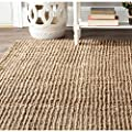 Safavieh Hand-woven Weaves Natural-colored Fine Sisal Rectangular Contemporary Rug (6' x 9')