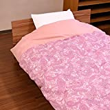 日本製 綿100% 綿フラノ あったか 掛け布団カバー シングル ピンク