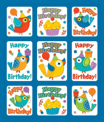 Boho Birthday Prize Pack Stickers