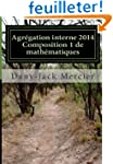 Agr�gation interne 2014 - Composition...