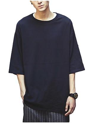 SNOWRAL カットソー Tシャツ オーバーサイズ 大きいサイズ ゆったり クルーネック
