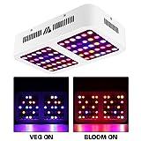 Morsen Reflector-Series Full Spectrum for Indoor Plants, Veg and Bloom Switch LED Grow Light, 600W (Tamaño: 600W)