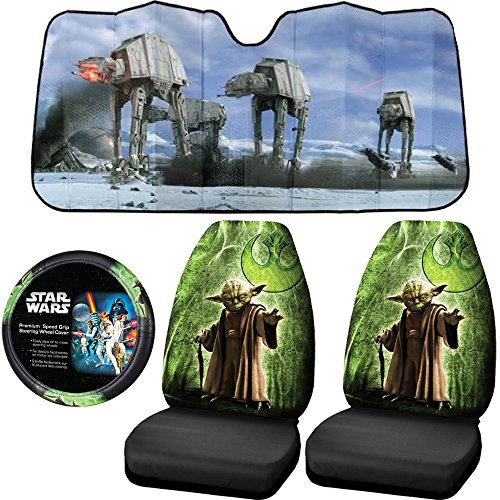Find Out Licensed Star Wars Jedi Master Yoda Seat Covers