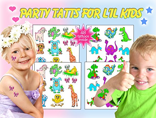 Party Tattoos for Little Kids - 1