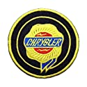 AMERICAN AUTO CHRYSLER Easy Iron On Embroidered Patch