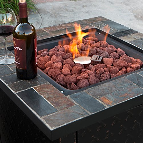 XtremepowerUS-Outdoor-Patio-Heater-Fire-Pit-Stainless-Steel-Burner-LPG-30000BTU