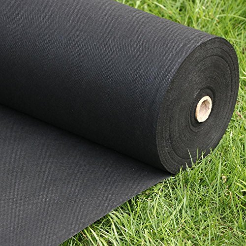 go2buy heavy duty weed barrier fabric biodegradable weed block nonwoven 300 x 3 ft lxw home. Black Bedroom Furniture Sets. Home Design Ideas