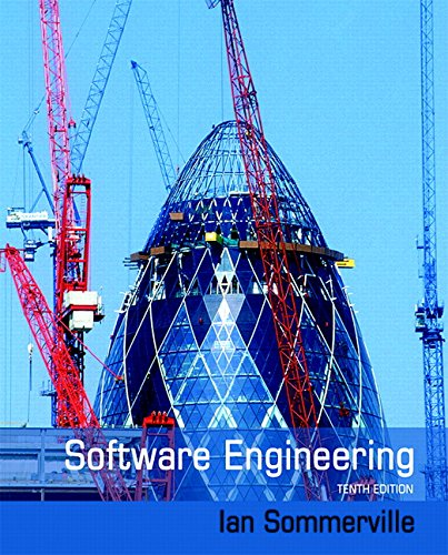 Software Engineering (10th Edition) (Software Engineering Somerville compare prices)