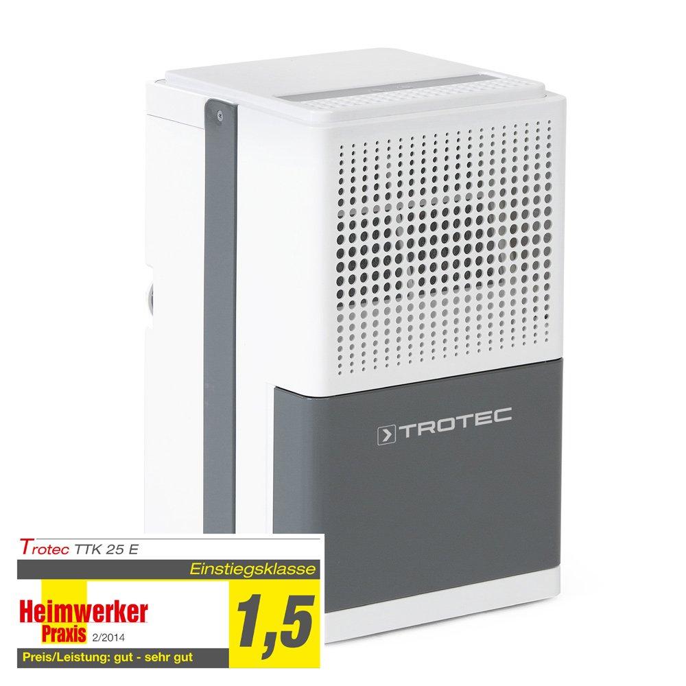 TROTEC Luftentfeuchter TTK 25 E (max. 12 Liter/Tag)Überprüfung und Beschreibung