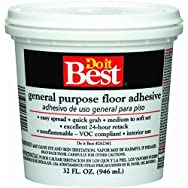 Dap26002Do it Best General-Purpose Floor Adhesive-QT MULTI-PURP ADHESIVE