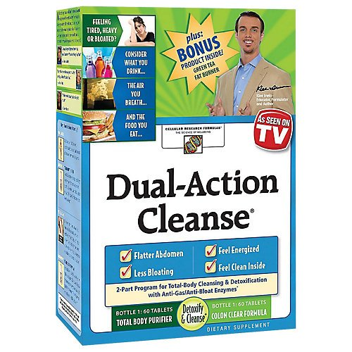 Applied Nutrition Dual Action Cleanse Kit with Green Tea Fat