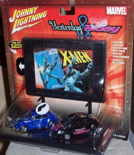 JOHNNY LIGHTNING YESTERDAY & TODAY MARVEL X-MEN