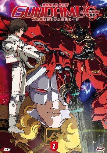 機動戦士ガンダムUC (ユニコーン) episode 2 赤い彗星 イタリア版 DVD 第2巻