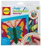 Alex Toys Simply Needlepoint Butterfly