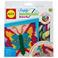 ALEX Toys Craft Simply Needlepoint Butterfly Kit