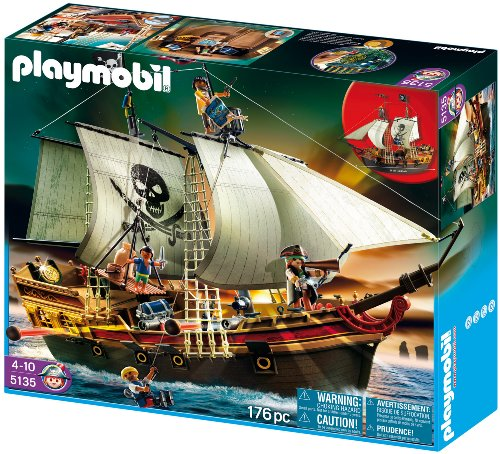 PLAYMOBIL 5135 - Piraten-Beuteschiff
