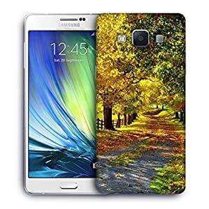 Snoogg Garden Trees And Way Designer Protective Phone Back Case Cover For Samsung Galaxy ON5