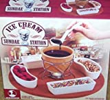 ICE CREAM SUNDAE STATION & Dessert Maker - 9 Piece Set