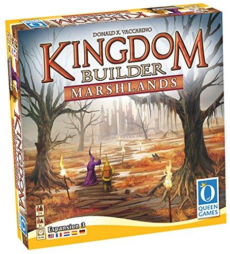 """Queen Jeux 25582,9cm Royaume Builder Marshlands multilingue """"Jeu"""