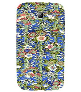 PrintVisa Flower Pattern 3D Hard Polycarbonate Designer Back Case Cover for Samsung Galaxy Grand Neo