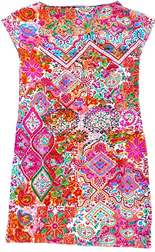 Lauren Ralph Lauren Multi Paisley Silk Kimono Dress (4)