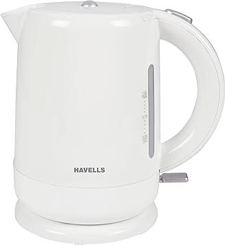 Havells Aqua 1500-Watt 1.0L Cordless Kettle (Whit