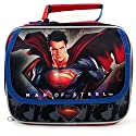 Superman Man of Steel Lunch Bag