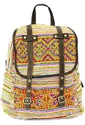 backpack hmong bag / vintage bag/embroidered bag/ hill tribe bag (EVB005.1)