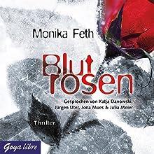Blutrosen (Die Romy-Thriller 3) Hörbuch von Monika Feth Gesprochen von: Katja Danowski, Jona Mues, Jürgen Uter, Julia Meier