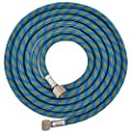 "Master Airbrush Premium 10 Foot Nylon Braided Airbrush Hose with Standard 1/8"" Size Fittings on Both Ends (Hose color may vary) from Master Airbrush"