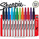 Sharpie RT Retractable Permanent Markers, 12 per Package