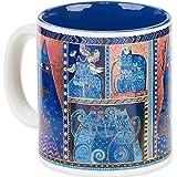Laurel Burch Artistic Collection Mug, Indigo Cats Portrait, Multicolor
