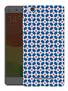 "Humor Gang Seamless Star Pattern Printed Designer Mobile Back Cover For ""Xiaomi Redmi Mi4i"" (3D, Matte, Premium Quality Snap On Case)"